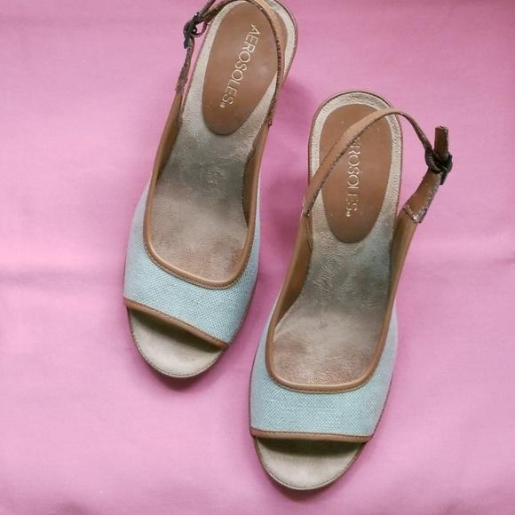 aed7688916 AEROSOLES Shoes | Wedge Sandals | Poshmark